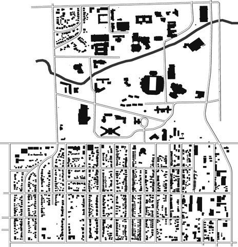Ανάλυση οδών του campus του Πανεπιστημίου του Τολέδο