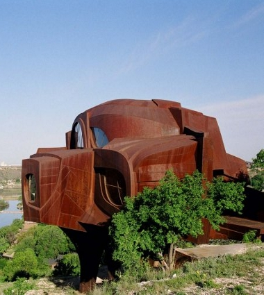 Robert Bruno's steel house