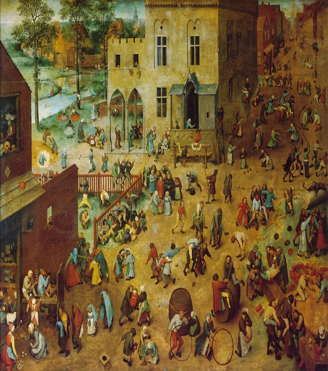 Bruegel: childrensgames