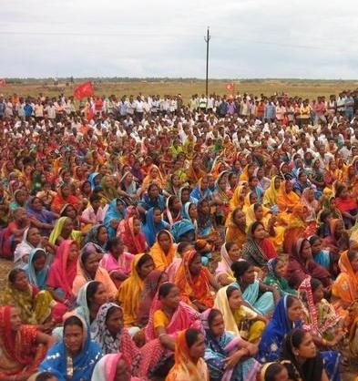 Διαμαρτυρία ενάντια στην POSCO στην επαρχία Jagatsinghpur
